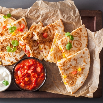 30 Minute Chicken Quesadillas Recipe