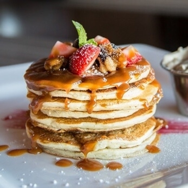 Picture of Flip Flop Flap-JackED - Vanilla Protein Pancakes