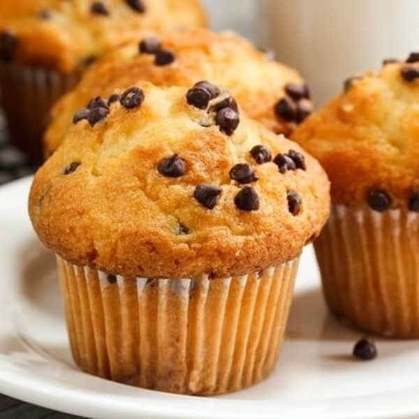 Picture of Banana Chocolate Chip MoJo Muffins Protein Muffins