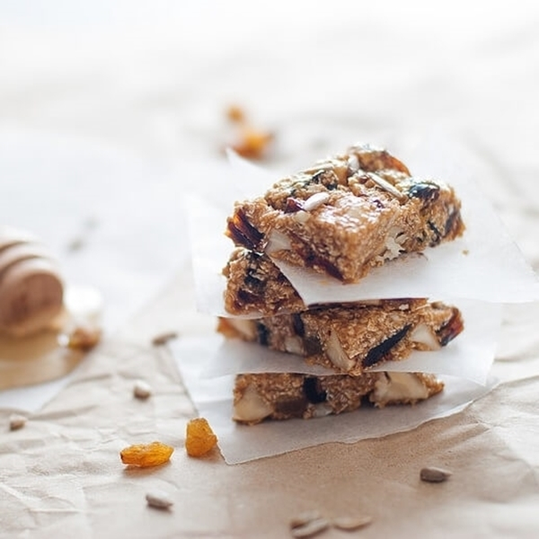 Picture of Paleo Date & Almond Baked Protein Bar