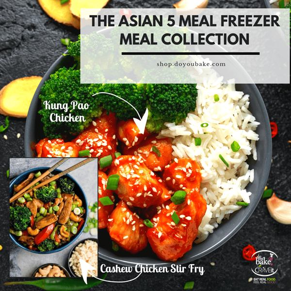 Picture of Asian 5 Freezer Meal Collection