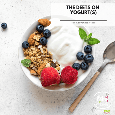 The Deets on Yogurt Types