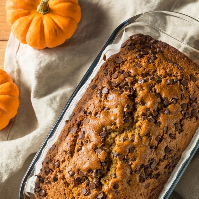 Picture of KETO Pumpkin Chocolate Chip Bread