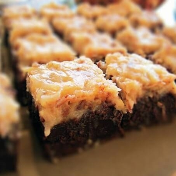 Picture of Deluxe German Chocolate Brownies