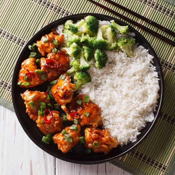 Picture of Sweet & Spicy Asian Chicken & Broccoli