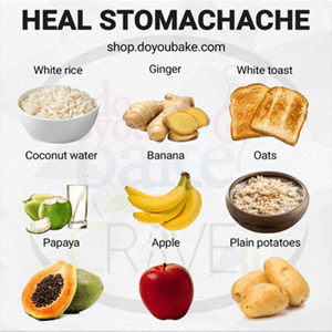 Foods That Will Help Heal Your Stomachache