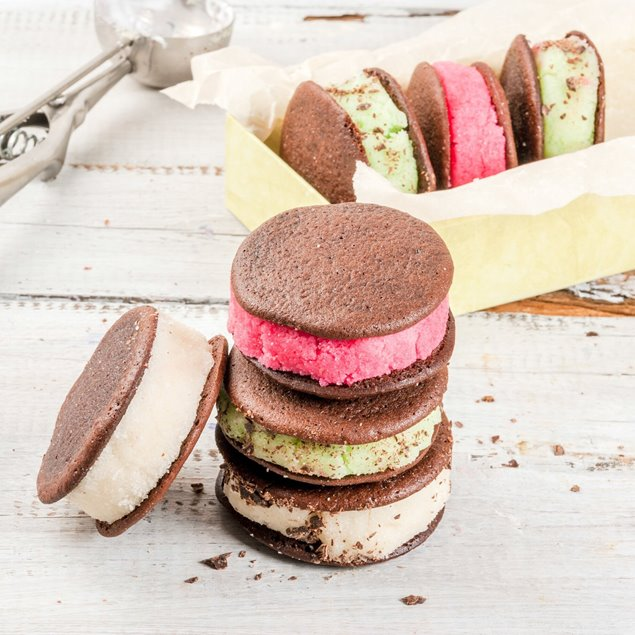 Picture of Fun Ice Cream Sandwiches TWO ways! For Small Kids