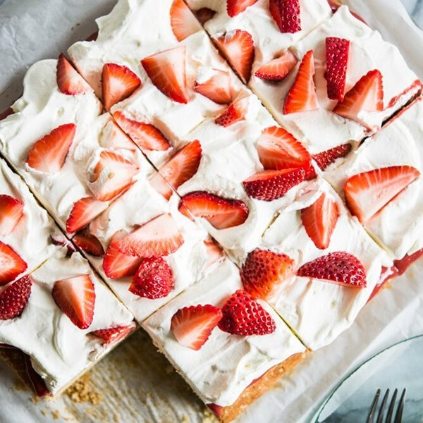 Picture of Strawberry Shortcake Sheet Cake