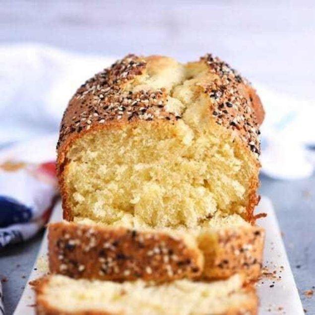 Picture of Everything Bagel 'n Garlic Beer Bread