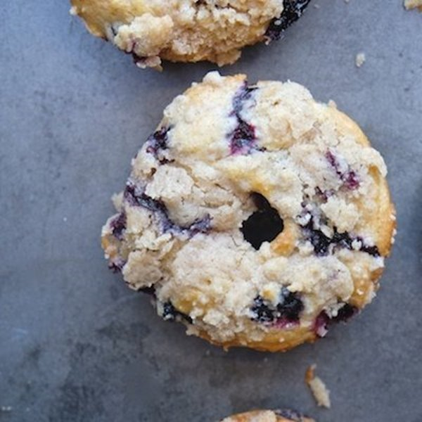 Picture of Blueberry Crumble Donuts