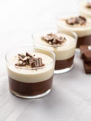 Tuxedo Protein Cheesecake Dessert Recipe