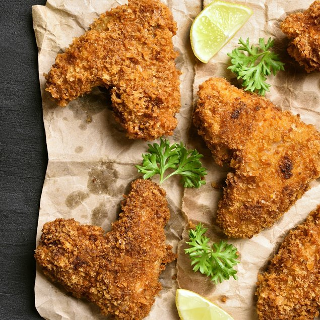 Picture of Oven Fried Garlic Chicken