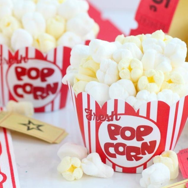 Picture of Movie Theater Popcorn Cupcakes! For Small Kids