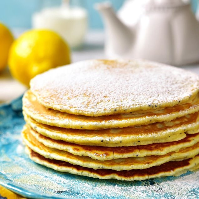 Picture of Lemon Berries Flip Flop Flapjacks