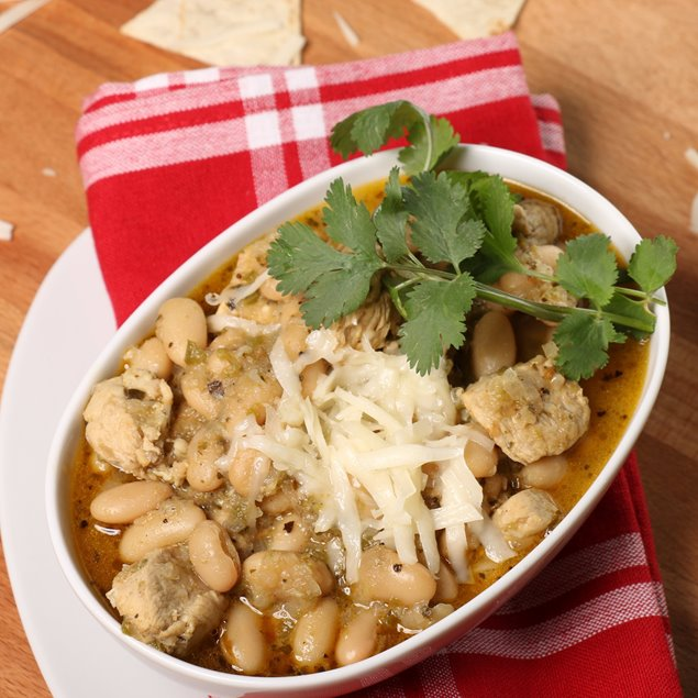 Picture of Slow Cooker White Bean + Chicken Chili