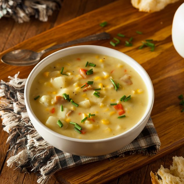 Picture of Cold Day Corn Chowder