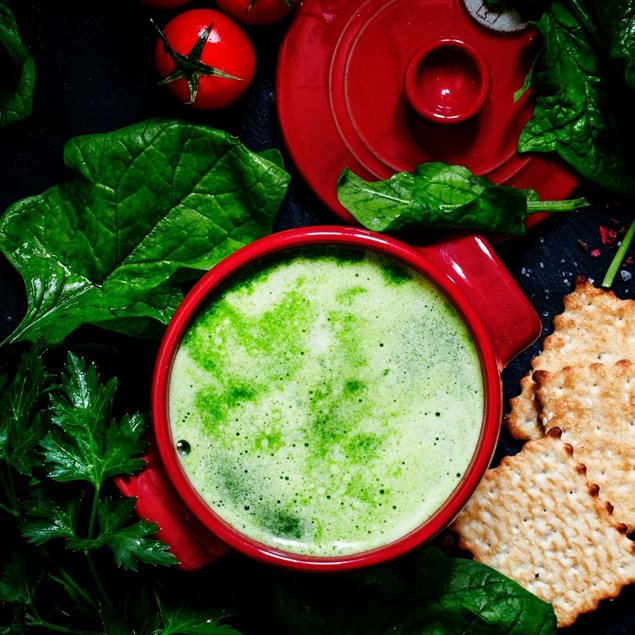 Picture of Creamy Spinach Soup