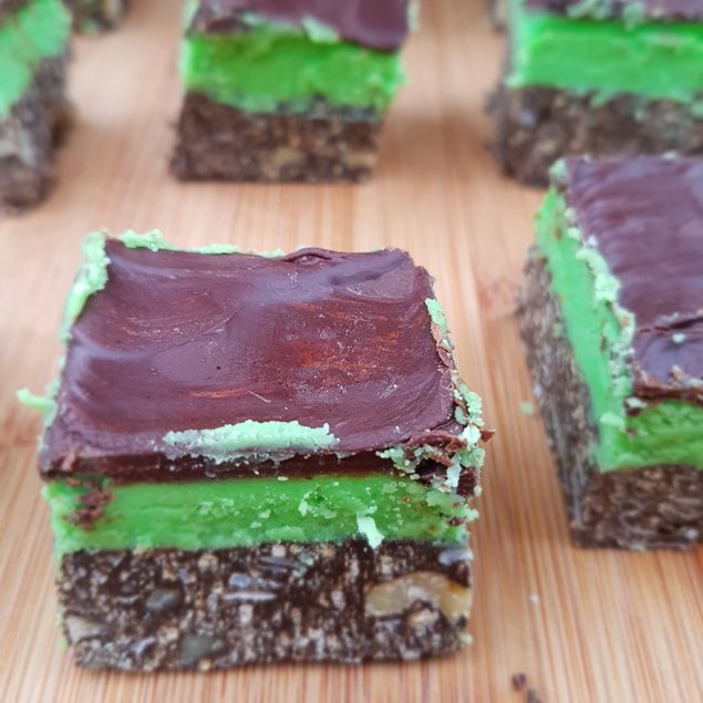 Picture of Great North Peppermint Patty Nanaimo Bars