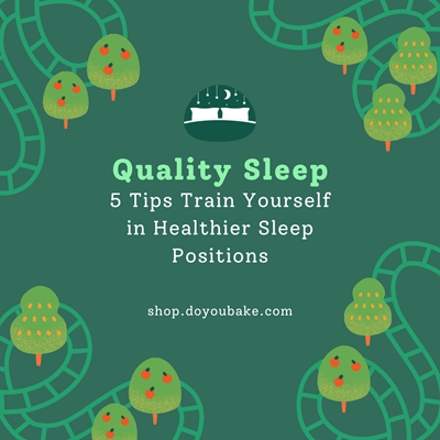 5 Tips Train Yourself in Healthier Sleep Positions