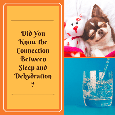 Did You Know the Connection Between Sleep and Dehydration?