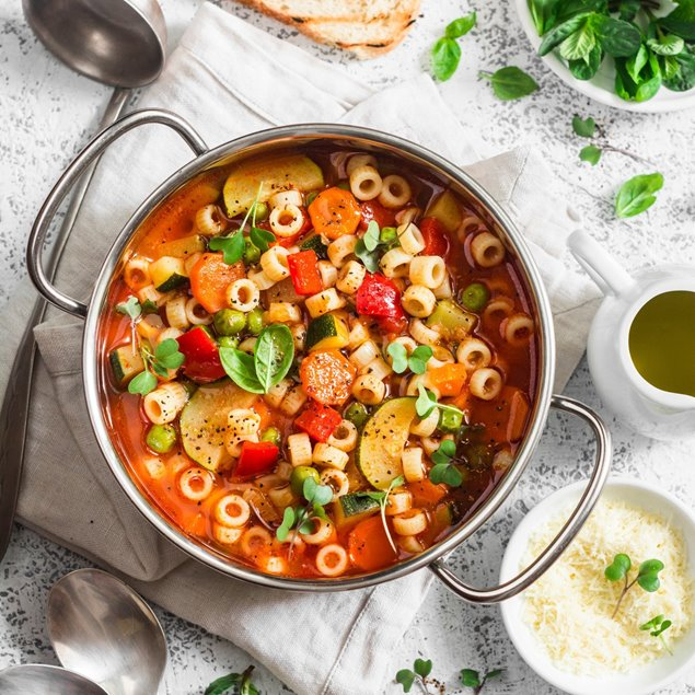 Picture of Garden Veg Minestrone Soup Full Price