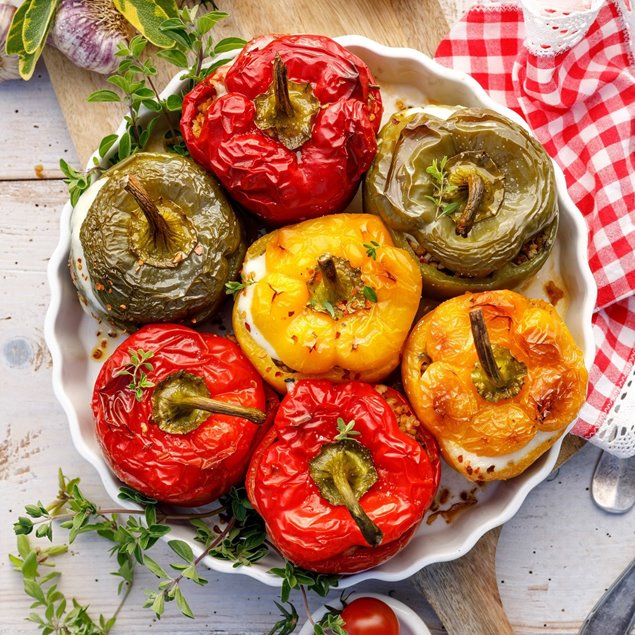 Picture of Mediterranean Stuffed Peppers