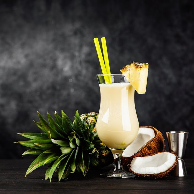 Picture of Pina Colada Boozy Slush Sugar Free