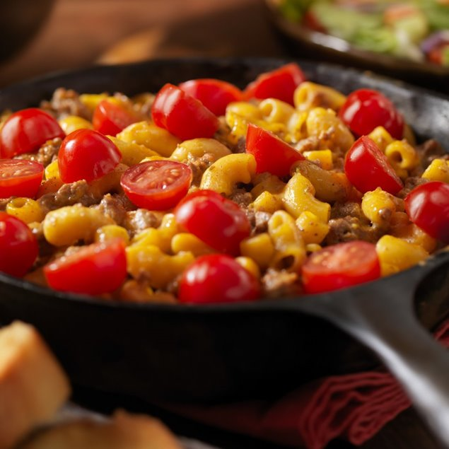 Picture of One Pot Cheeseburger Mac N Cheese