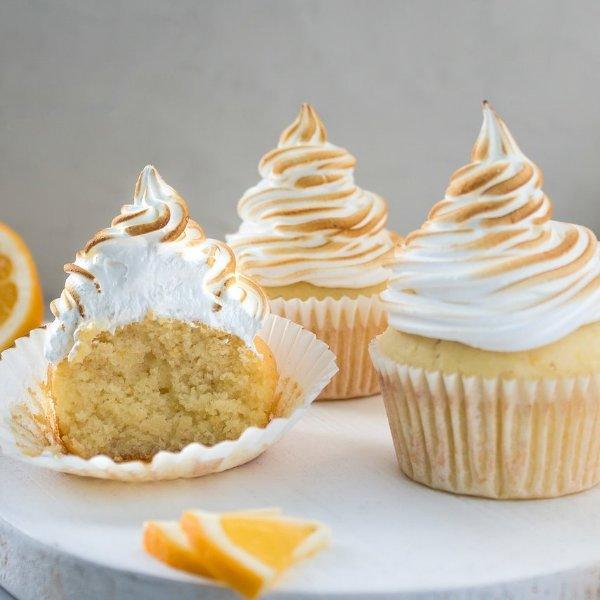 Picture of Lemon Meringue Cupcakes