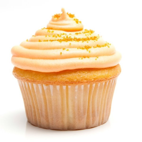 Picture of Orange Creamsicle Cupcakes