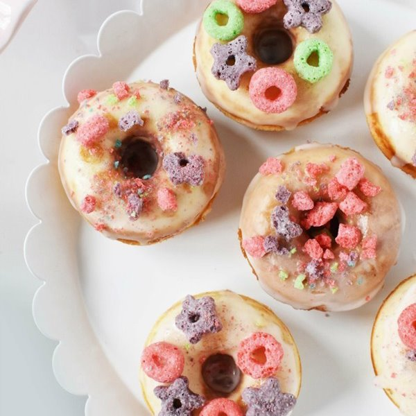 Picture of Fruity O Donuts!