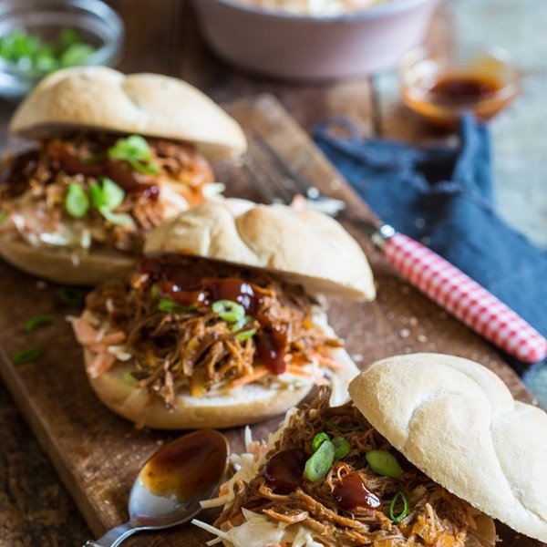 Picture of Slow Southern Pulled Pork Sandwiches