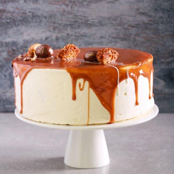 Picture of Caramel Praline Layer Cake