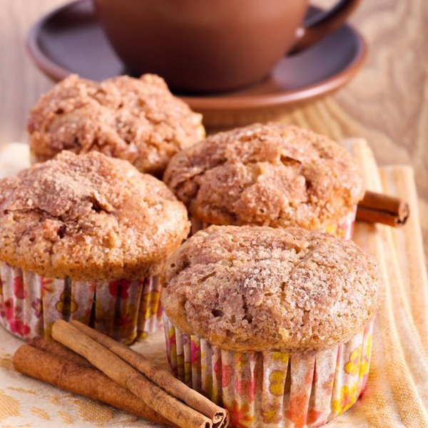 Picture of High Protein Snickerdoodle Muffins
