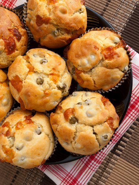 Picture of Bacon + Cheese Muffins