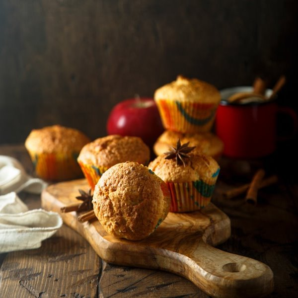 Picture of Feel Good Butterscotch Apple Muffins