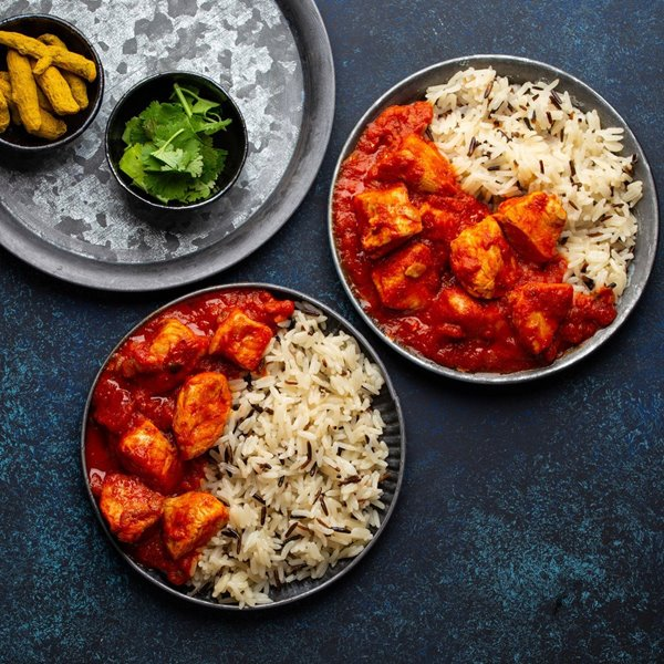 Picture of Moroccan Glazed Chicken with Back + White Rice Medley