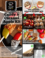 Picture of Candy + Caramel Apple Making Kit : Sept/Oct Kids Club