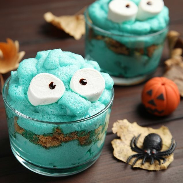 Picture of Monster Cookie Pudding Cups