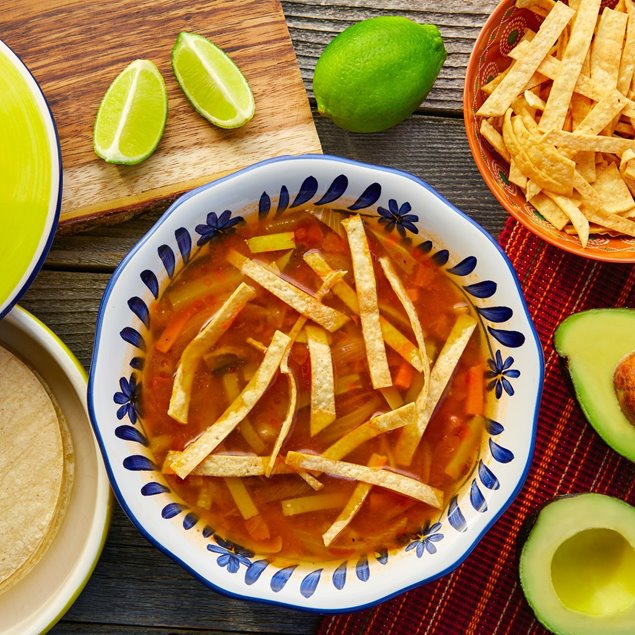 Picture of Fireside Tortilla Soup