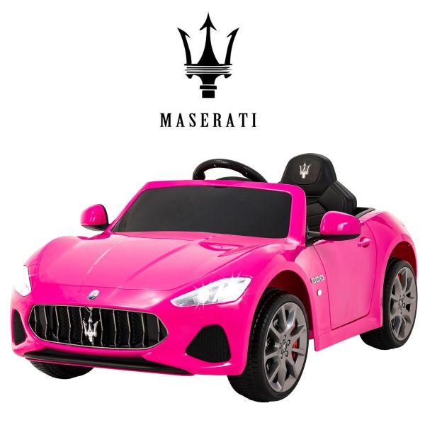 pink maserati