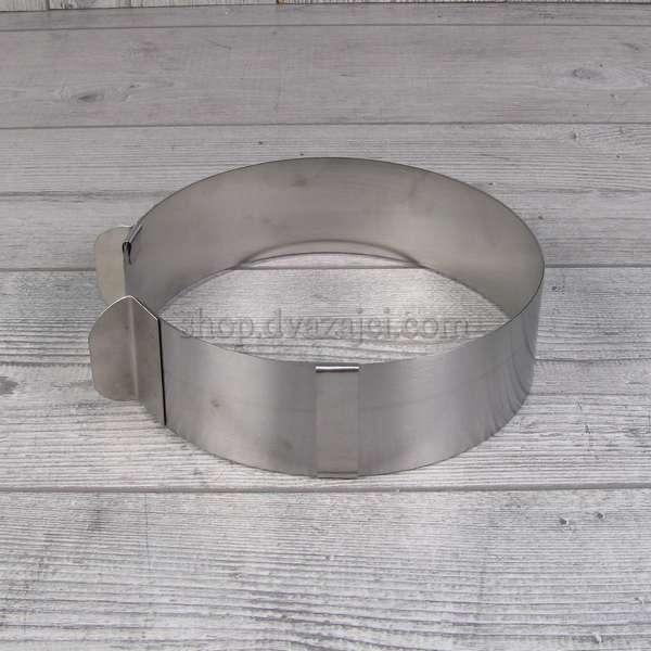 Раздвижная форма для выпечки мини Круг h = 50 мм