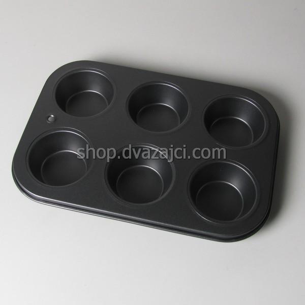 форма для 6 капкейков