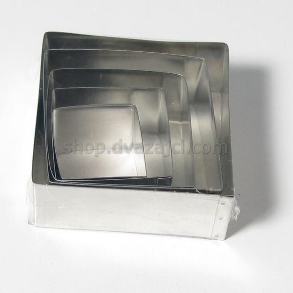Форма для выпекания квадратная набор 5 шт