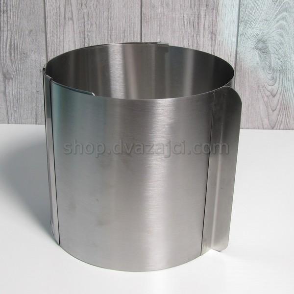 Раздвижная форма для выпечки Круг h = 200 мм