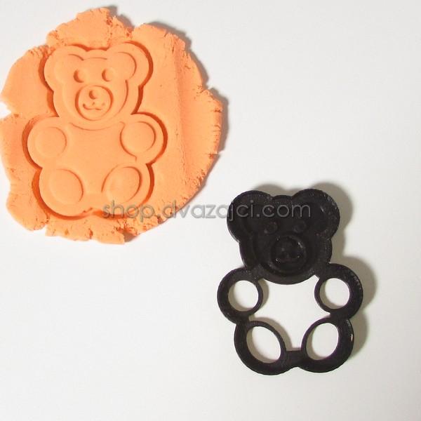 Форма для печенья Мишка Барни