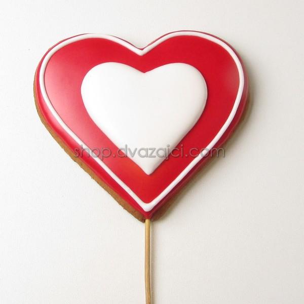 Пряник-топпер Сердце