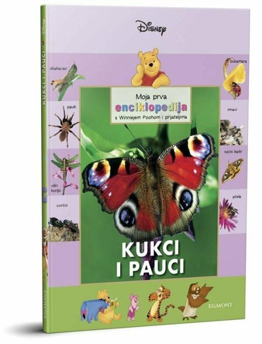 Moja prva enciklopedija s Winniejem Poohom: KUKCI I PAUCI