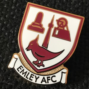 Emley AFC Club Shop - Pin Badge