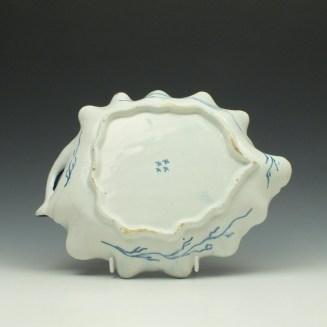 Bow Grapevine Pattern Leaf Dish c1760-65 (2)